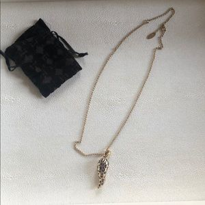 Roberto Cavalli horn necklace